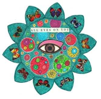 Thanks to you, Kathryn, I have fallen in love with mandala art. Your own work, knowledge, devotion, energy and generosity in sharing all these, make being a part of 100mandalas and Sharing Circle rare blessing these days. Keep on doing such a great job! Nevena Lunic, Serbia