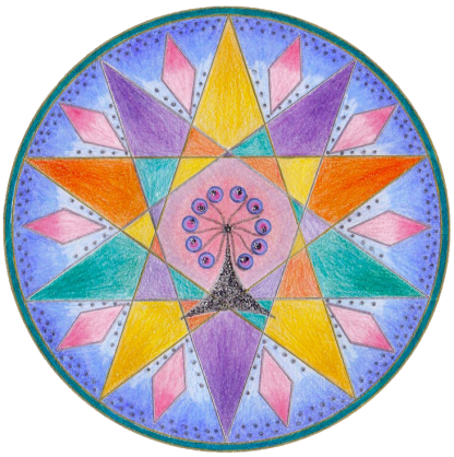I have learned so much from you on my mandala journey these past couple of years; there have been many discoveries on the personal and the creative levels and I have enjoyed every minute shared with you and your mandala community. Sally McLennan, South Australia