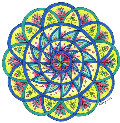 Introduction to Creating Mandalas at New Hampshire Institute of Art NHIA