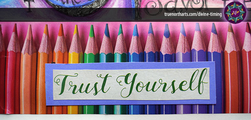 vision board vision journal message trust yourself