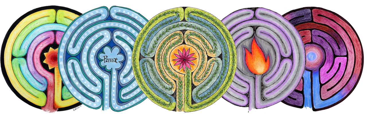 Create labyrinth mandala art to awaken your creativity and reflect on your life's path.